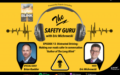 Distracted Driving: Making our roads safer with Brian Kuebler, author of The Long Blink