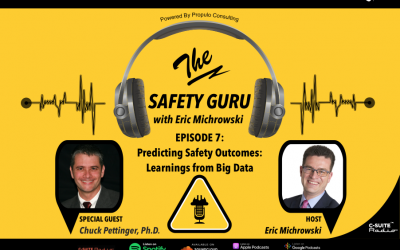 Predicting Safety Outcomes: Learnings from Big Data with Dr. Chuck Pettinger