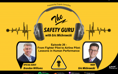 From Fighter Pilot to Airline Pilot: Lessons in Human Performance with Brandon Williams