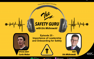 Importance of Leadership and Onboarding for Safety with Curtis Weber