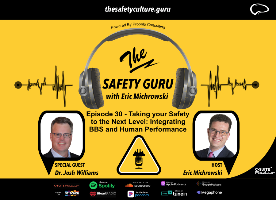 Episode 30 - Taking your Safety to the Next Level: Integrating BBS and Human Performance with Dr. Josh Williams