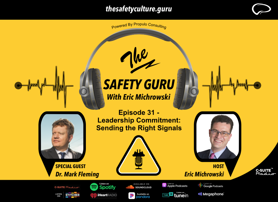 Safety Leadership Commitment: Sending the Right Signals with Dr. Mark Fleming