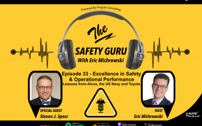 Excellence in Safety & Operational Performance: Lessons from Alcoa, the US Navy and Toyota with Steve Spear